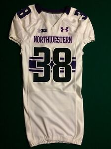 Image is loading Northwestern-Wildcats-Game-Worn-Under-Armour-Jersey-38 7cfc208d3