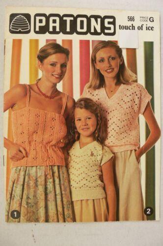 Short Sleeves 4 Ply Patons Family Knitting /& Crochet MultiList 5  Books S1
