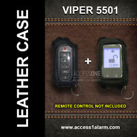 Viper 5501 ((leather Remote Cases)) For Both Remotes