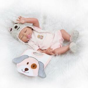 Reborn-Dolls-20inch-50cm-Waterproof-Weighted-Sleeping-Baby-Toys-Pink-Girl-Doll