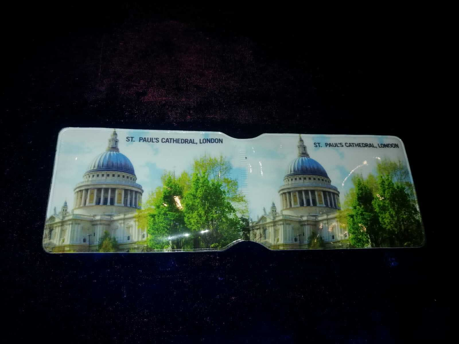 ST PAULS PASS CREDIT TRAVEL RAIL SLIM ID HOLDER WALLET FOR OYSTER CARD