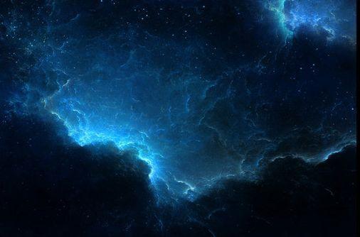 3D  Schwarz, Blau, Wolke 74 Fototapeten Wandbild Fototapete BildTapete FamilieDE