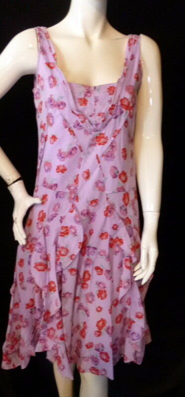 Anthropologie Odille Indian Cotton Dress Size 4 Floral