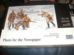 Master Box Ltd Photo for the Newspaper Russian Infantry 1:35 Scale Kit MB3529