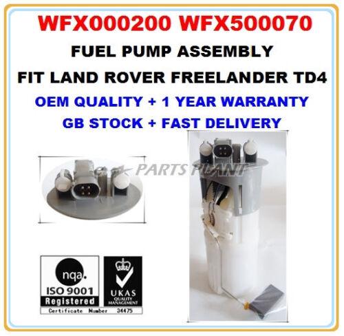 LAND ROVER FREELANDER 2.0 TD4 INTANK FUEL PUMP ASSEMBLY WFX000200 WFX500070