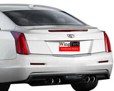 Fits: Cadillac ATS 2-Door Coupe 2015-2017 Flush Mnt Rear Spoiler Paint to Match