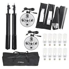 Photography Studio Portrait Product Light Lighting Tent Kit Video Equipment V3G5