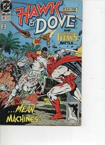 HAWK-AND-DOVE-12-MAY-1990-VERY-FINE