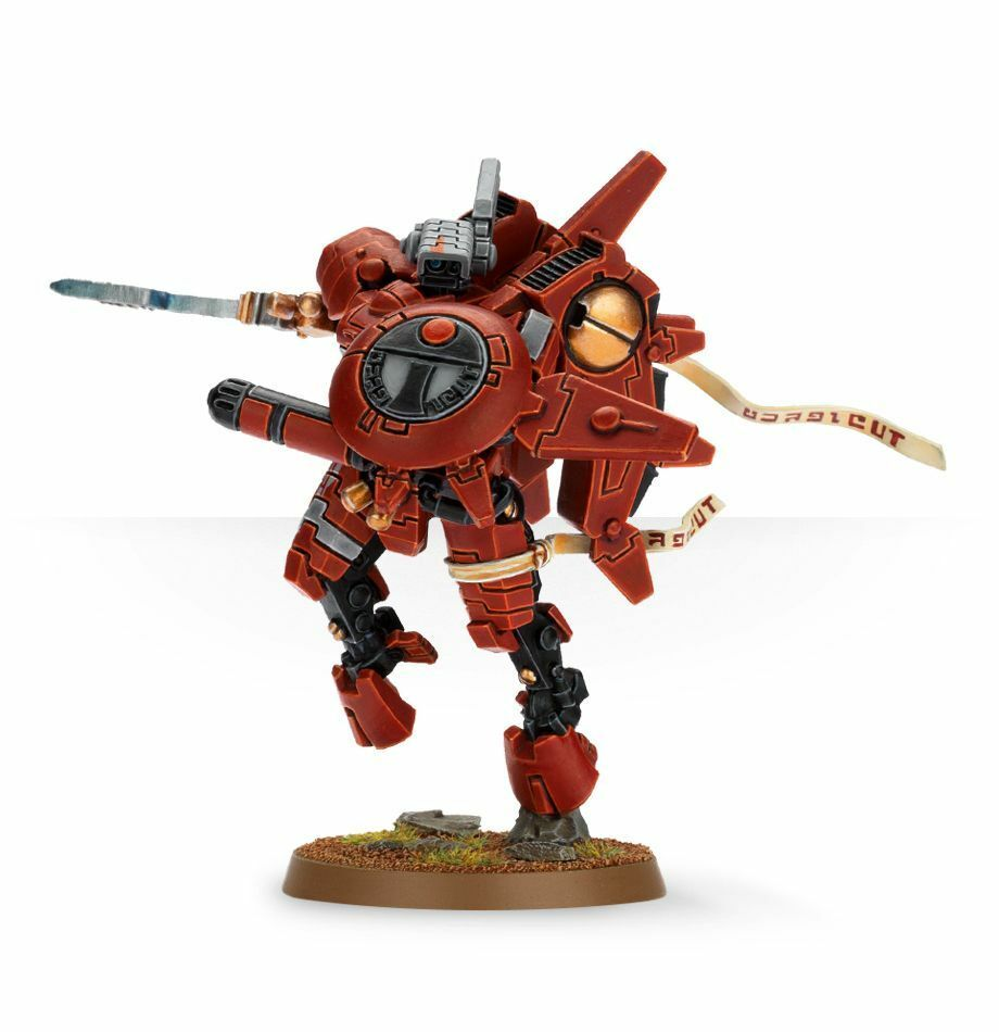 Warhammer 40K Tau Empire Comandante O'Shovah resin new