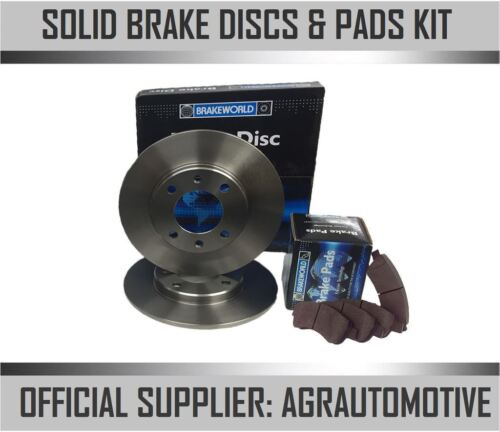 OEM SPEC REAR DISCS AND PADS 290mm FOR FIAT SCUDO 1.6 TD 2007