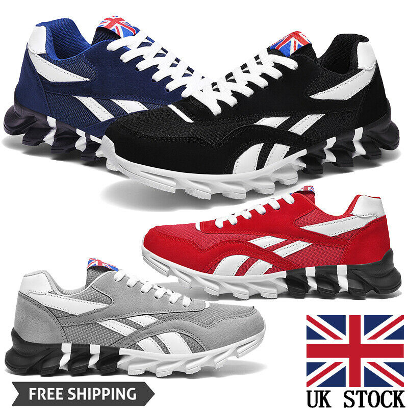 Men's Athletic Hiking Trainers Running Tennis Shoes Outdoor Jogging Sneakers