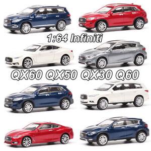 1-64-Infiniti-QX60-QX50-QX30-Q60-modelo-automovil-de-fundicion-juguetes-modelo-Sport-Utility-Vehicle