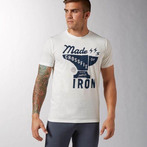 BNWT Mens Reebok Crossfit Cross Fit Iron SS Competition T-Shirt S L XL XXL