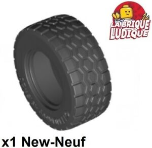 59895 4600 Lego ® Lot x4 Roue Jante Gris Pneu Essieu Tire Car Wheel 34337