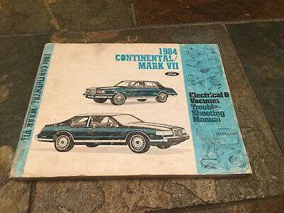 1984 Lincoln Mark VII & Continental Wiring Diagrams ...