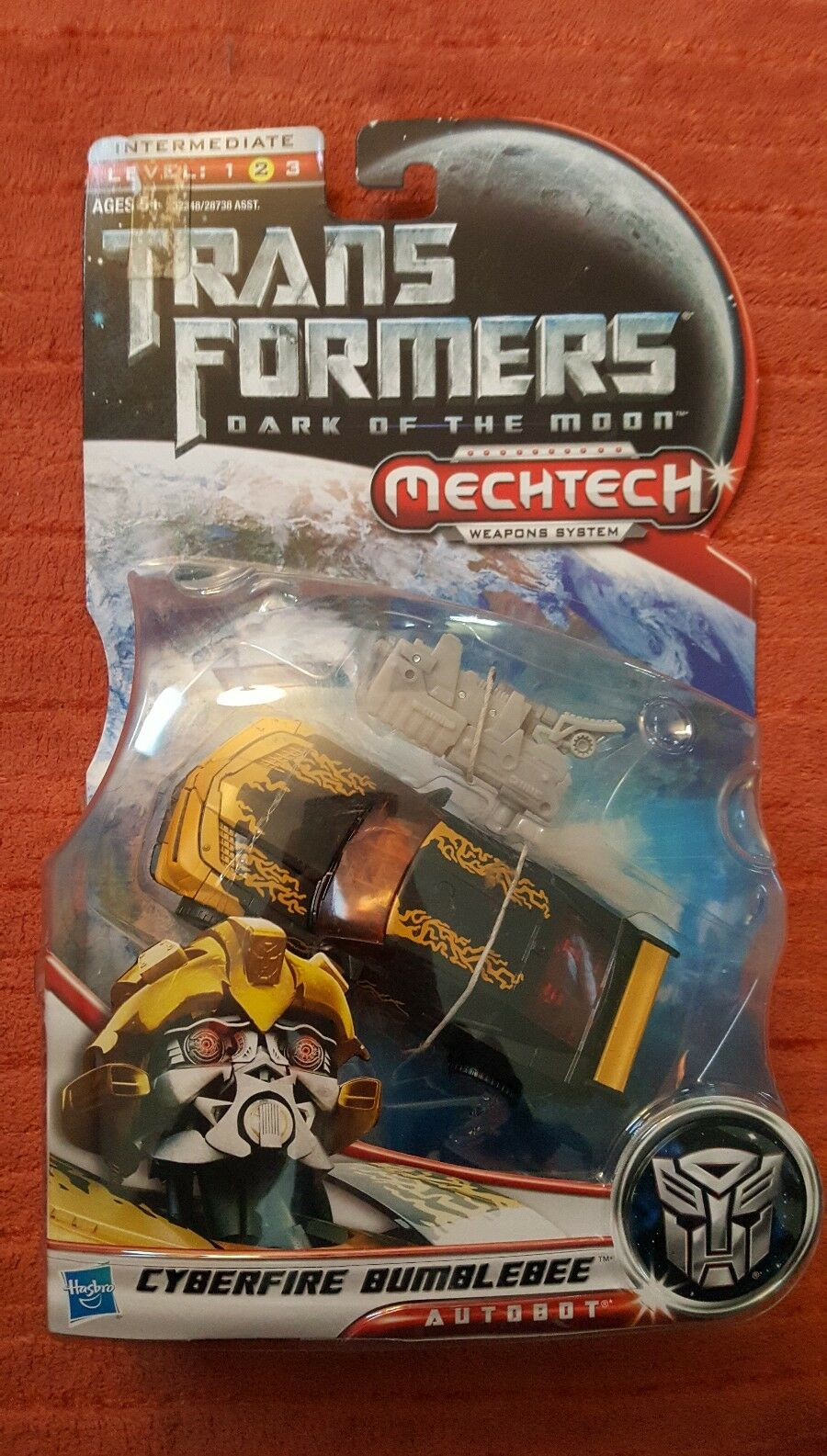 Hasbro TF DARK OF THE MOON CYBERFIRE BUMBLEBEE, Transformers figure nib