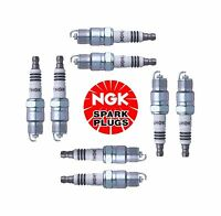 Buick Chevrolet Ford Gmc Set Of 8 Spark Plugs Ngk Iridium Ix Resistor Ur5ix