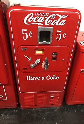 Original 1950's Antique COKE MACHINE Coca Cola RESTORED ...