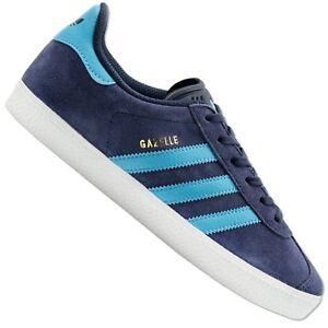 Gris Détails Bleu Originals De Sur Chaussures Adidas Bb2504 Loisirs Gazelle Baskets SGVzMpqU
