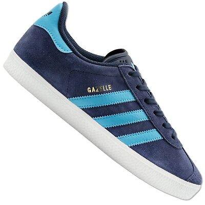 Adidas Originals Gazelle BB2504 Baskets Chaussures de Loisirs Bleu Gris   eBay