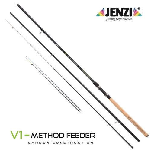 JENZI Feederrute V1 Method Feeder 3,60m bis 120g Karpfen Rute