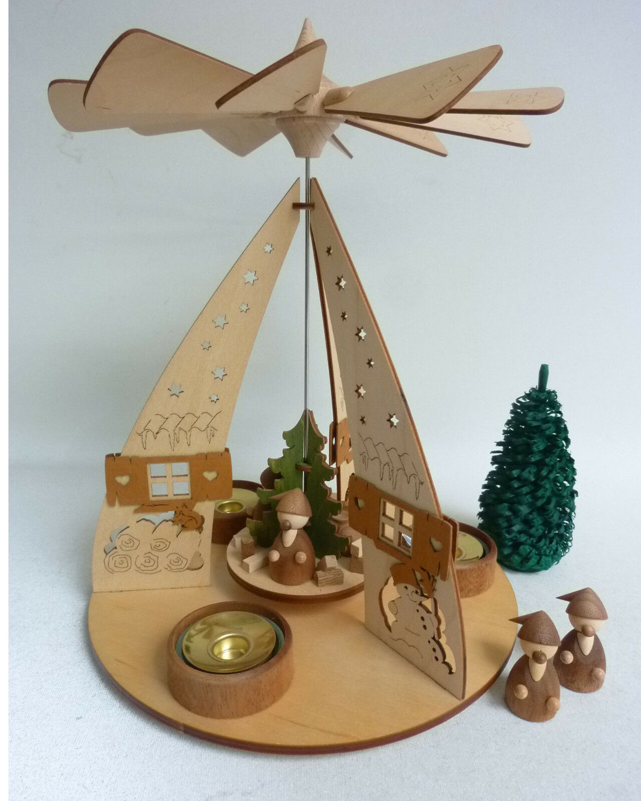 Pyramide Wichtelhaus  Muster 8 224 Original Original Original Erzgebirge Weihnachtsdekoration | Stil  801e52