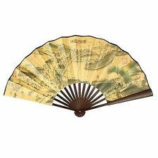 Japanese Handheld Folding Fan with Traditional Japanese Ukiyo-e Art Prints T4A4