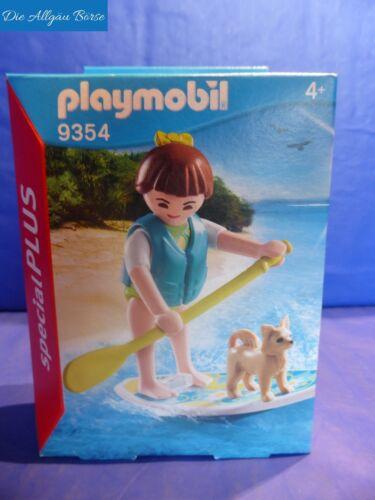 Playmobil 9354 Stand Up Paddling Special Plus Surferin Hund Neu OVP