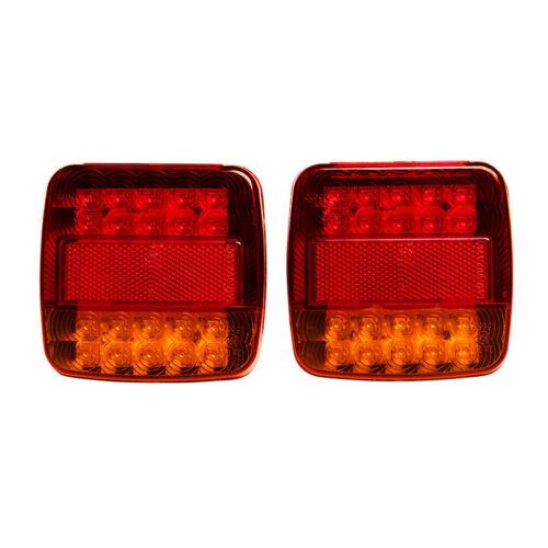 Trailer Truck 20LED Taillight Brake Stop Turn Signal Indicator Light Lamp 12V HU