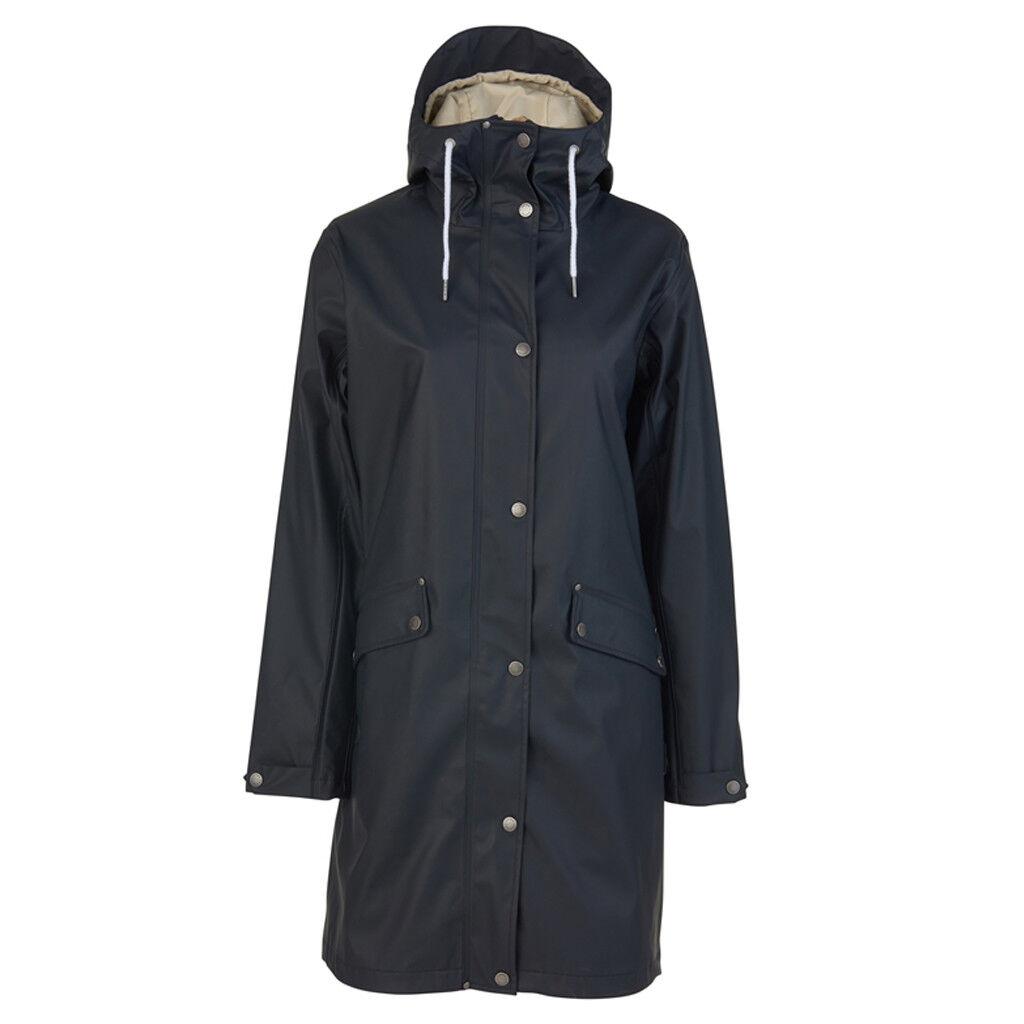 Tretorn Erna Damen Regenmantel Rain Coat Navy