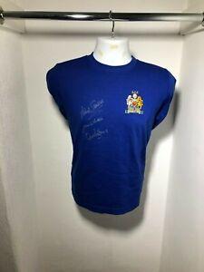 Manchester United 1968 European Cup Final Shirt signed by Stepney, Sadler, Aston