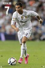 RONALDO - REAL MADRID POSTER - 24x36 FOOTBALL SOCCER 34106