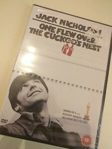 Dvd-ONE-FLEW-OVER-THE-CUCKCOO-039-S-NEST-JACK-NICHOLSON-New-sealed-in-English