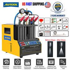 Autool Ct160 Ct150 Fuel Injector Ultrasonic Petrol Car Nozzle Cleaneramptester Us
