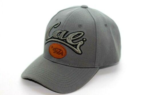 CALI CALIFORNIA STATE EMBROIDERY BASEBALL CAP HAT ADJUSTABLE
