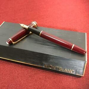Montblanc 4810 Nib 14k Fountain Pen 135 Mm Red W Tracking Free Shipping Ebay