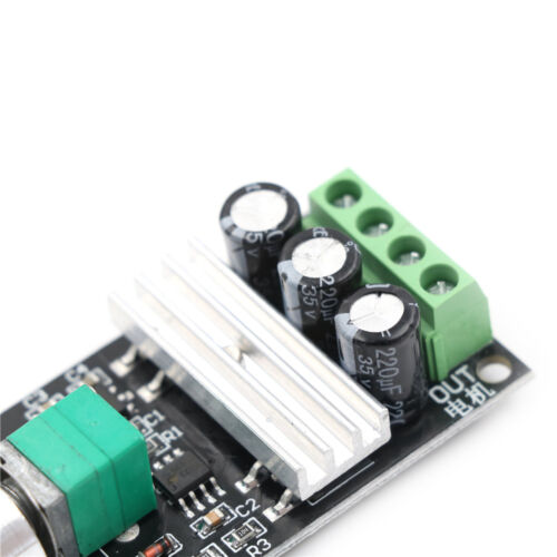 DC 6-28V 3A PWM Motor Speed Controller Regulator Speed Control Switch LY