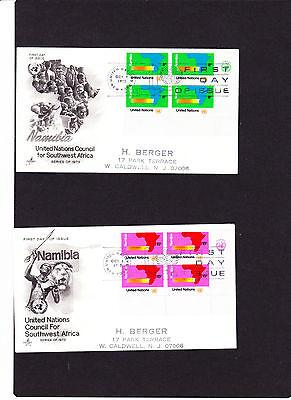261 Vom 01.10.1973 260 Mit Traditionellen Methoden Sporting 2 Uno New York 4er Block Fdc`s Mi.nr Echt Gelaufen
