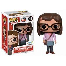 Funko POP! Amy Farrah Fowler Big Bang Theory JMD Pink Exclusive *RARE RETIRED*