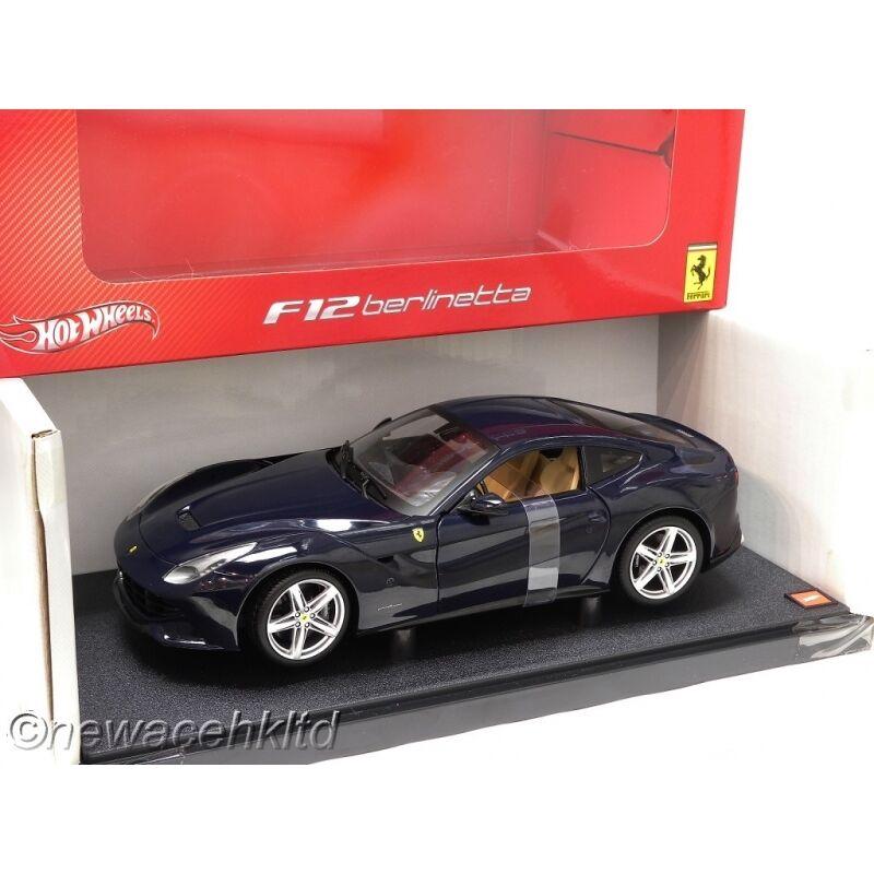 Hot Wheels ferrari f12 Berlinetta coche modelo Model car original nuevo /& OVP
