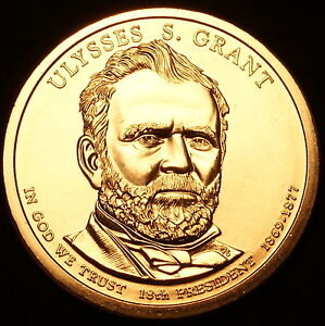 2011 P Position B BU Ulysses S Grant Presidential Dollar Choice Uncirculated US Mint