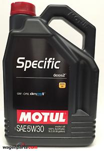 Aceite-Motor-Opel-GM-Vauxhall-Acea-C3-Motul-Specific-dexos-2-5W30-5-litros
