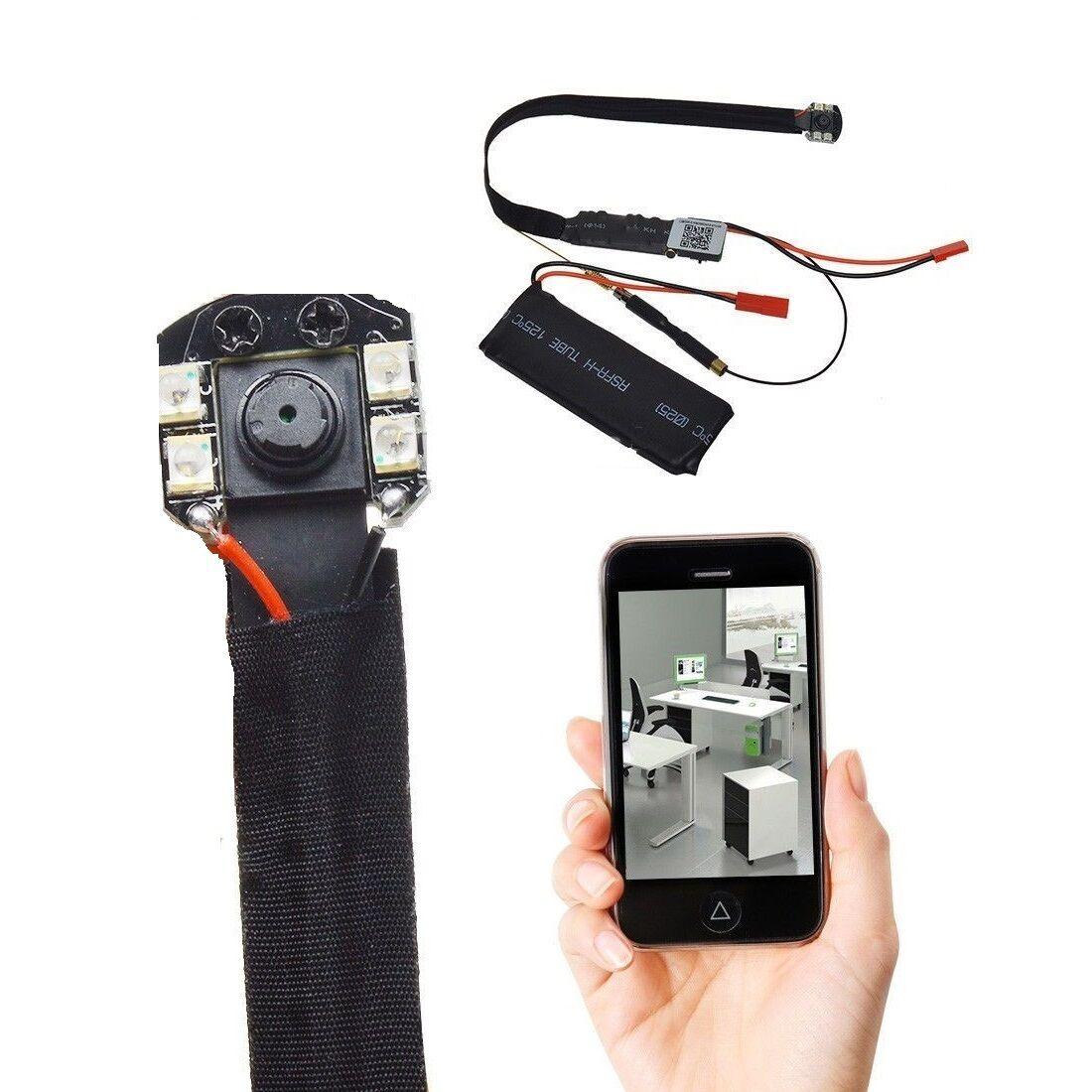 2GB HD Mini Cámara de Vigilancia Vigilancia de Live Ip Wifi Red Wlan Visión Nocturna Auto A102 dc077c