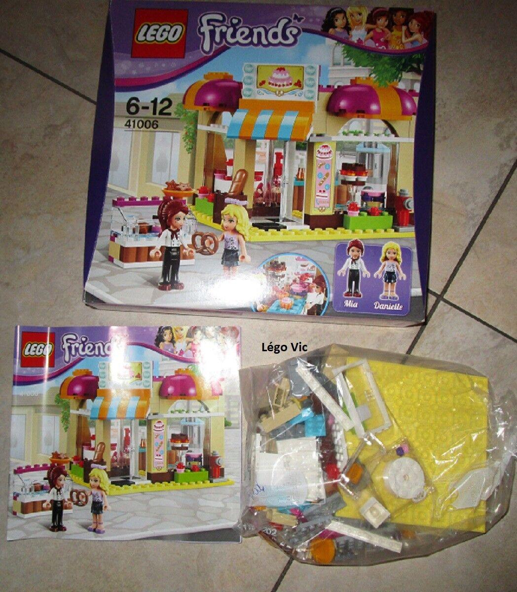 Lego 41006 Friends Downtown Bakery Boulangerie + Notice + Boite CNB83