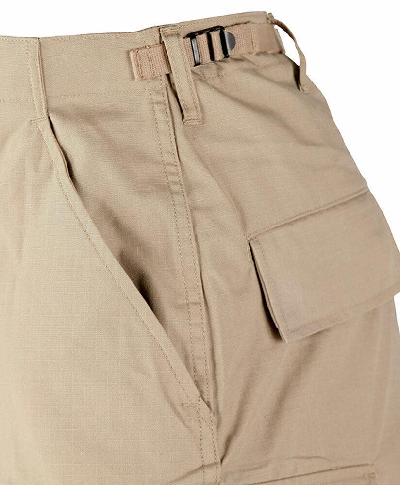 PROPPER Bdu Uniforme Pantaloni Campo Ripstop Nero Nero Nero - Esercito Genuino Gear 113768