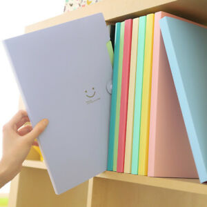 A4-File-Document-Bag-Pouch-Bill-Folder-Holder-Organizer-Fastener-Office-Supplies