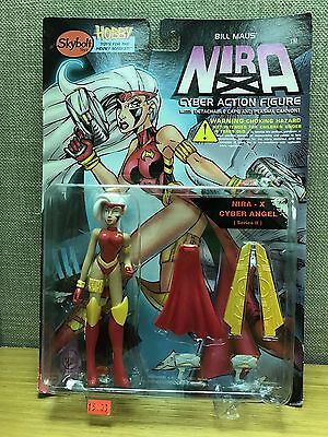 "Nira-X Cyber Angel Variant 6/"" Action Figure New! Skybolt Toyz Bill Maus Nira"