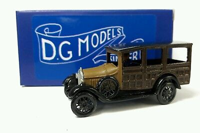 Oo Gauge 1/76 4mm 1930 Ford Woody Wagon Metal Model Made In England