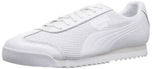 Puma-Roma-Dlx-Perf-White-Nimbus-Cloud-Sneakers-Mens-US-10-5-BNIB-UK-9-5-EUR-44