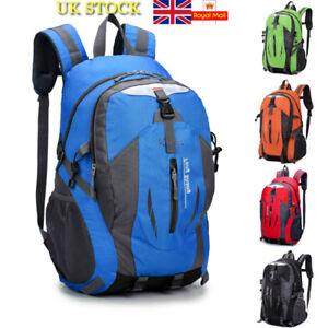 98983eb27e80 Image is loading 30L-Waterproof-Backpack-Rucksack-Hiking-Camping-Trekking- Bag-